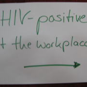 HIV-positive at workplace