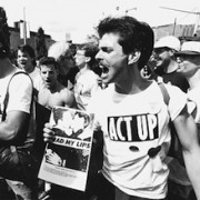 ACT-UP-Demonstrant