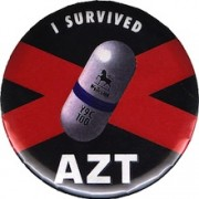 Button I survived AZT