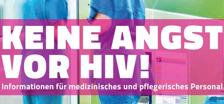 Keine Angst vor HIV