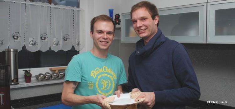 Steven (li.) und Basti