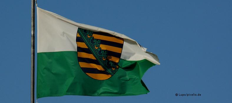 Fahne Sachsens