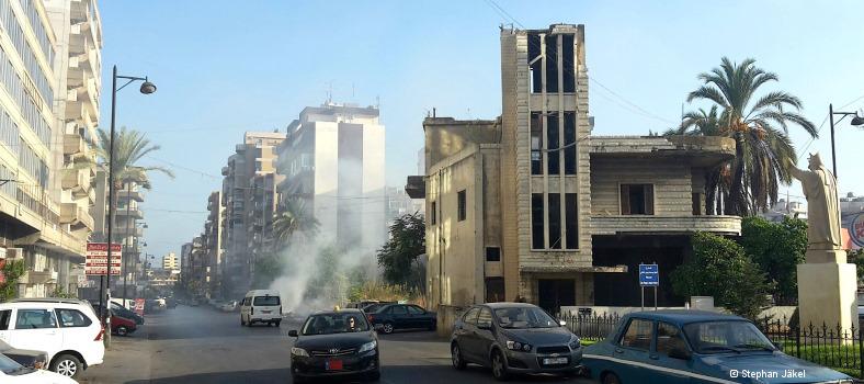 Beiruts Stadtteil Sad el Baouchriye