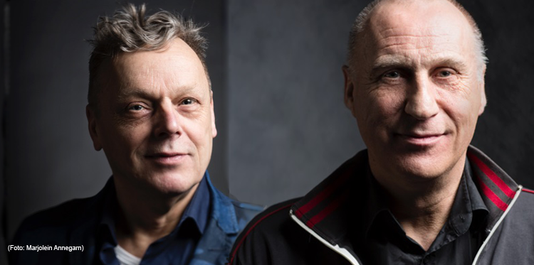Portraits Bert Oele und Erwin Kokkelkoren