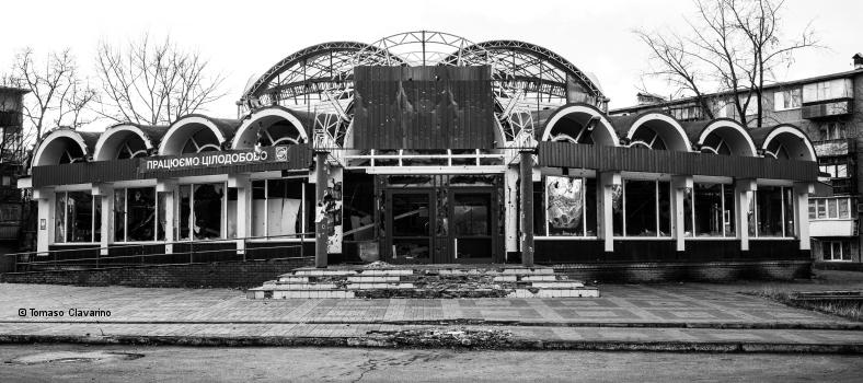 Kiewer Stadtteil Troeschina (Foto: Tomaso Clavarino)