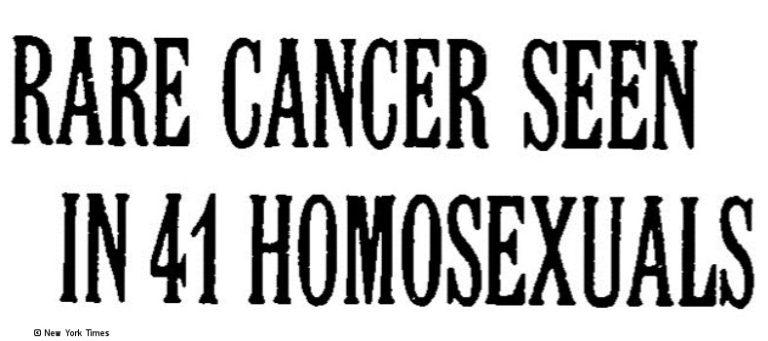 Überschrift in der New York Times