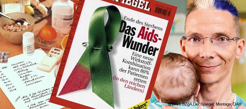Anfangs noch kompliziert, heute einfach: die HIV-Therapie. Menschen mit HIV können heute auch Eltern werden