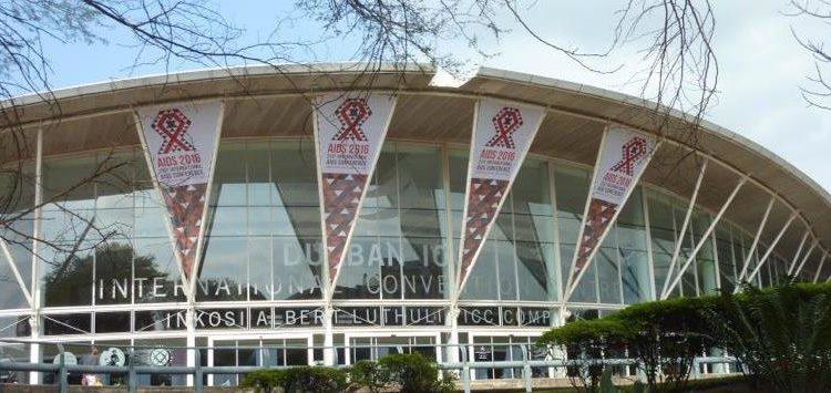 Konferenzgebäude Aids 2016