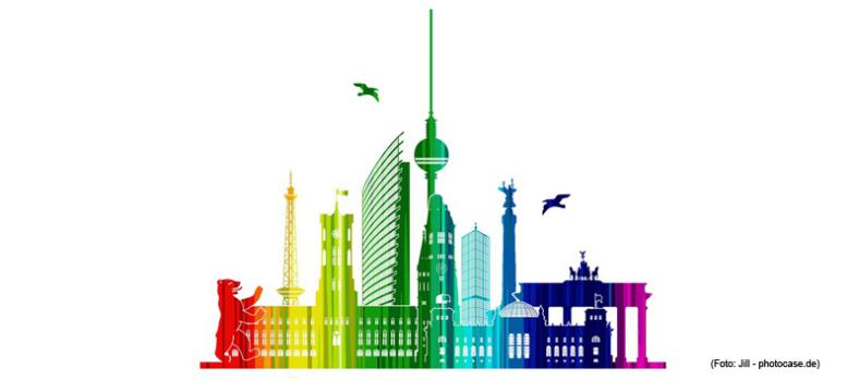 Berlin in Regenbogenfarben