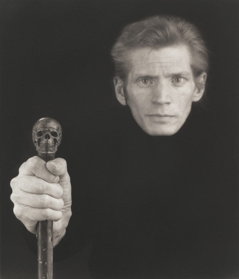 Selbestportrait Robert Mapplethorpe