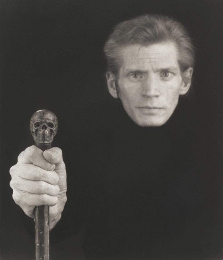 Selbestportrait Robert Mapplethorpe