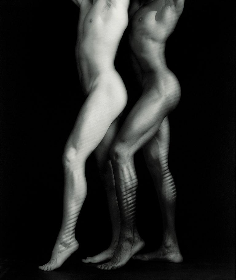 zwei Männerkörper