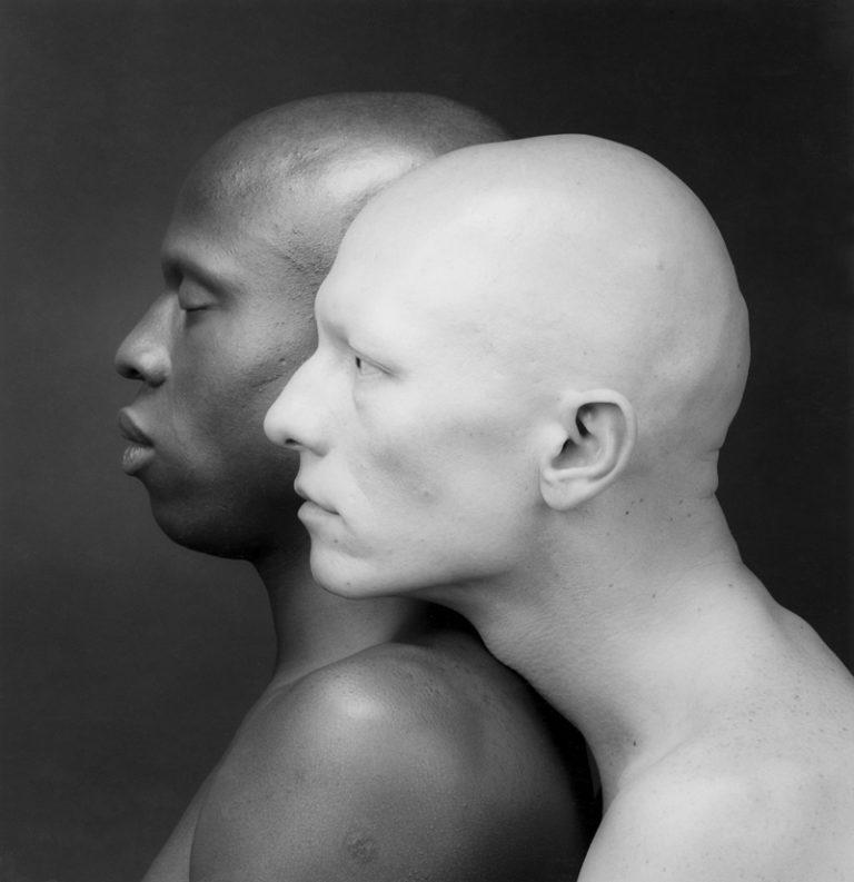 zwei Männer im Profil