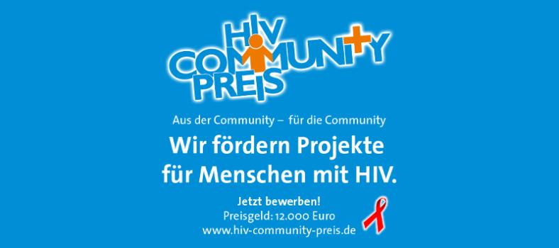Logo HIV-Community-Preis 2017