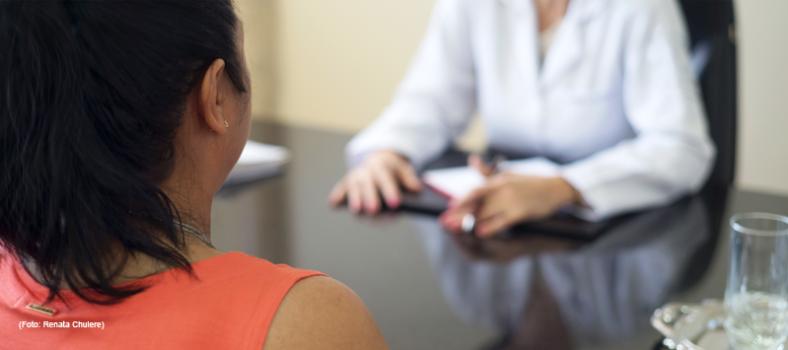 Ein vertrauensvolles Arzt-Patient-Gespräch ist wichtig für die Substitutionstherapie