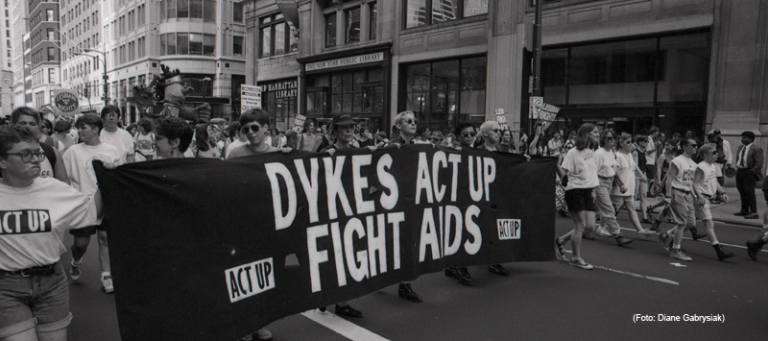 ACT UP Demo in New York