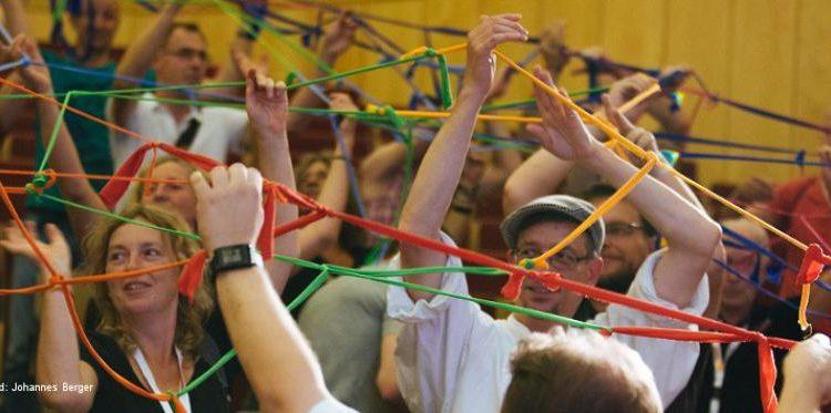 Auftaktveranstaltung auf den Positiven Begegnungen 2016, uropas größte Selbsthilfekonferenz