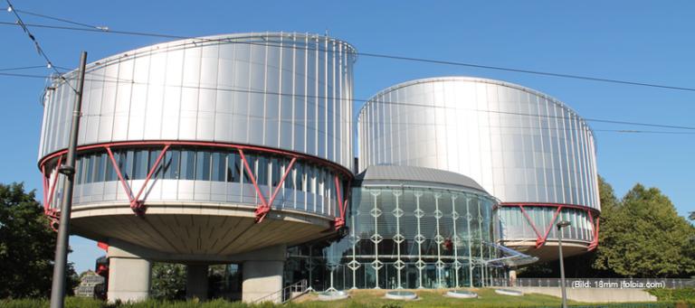 Gebäude des Europäischen Gerichtshofs für Menschenrechte (LGBTI in Russland)
