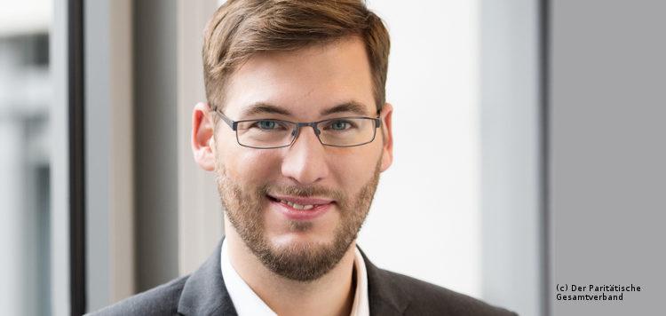 Interviewpartner Christian Woltering (Paritätischer Wohlfahrtsverband)
