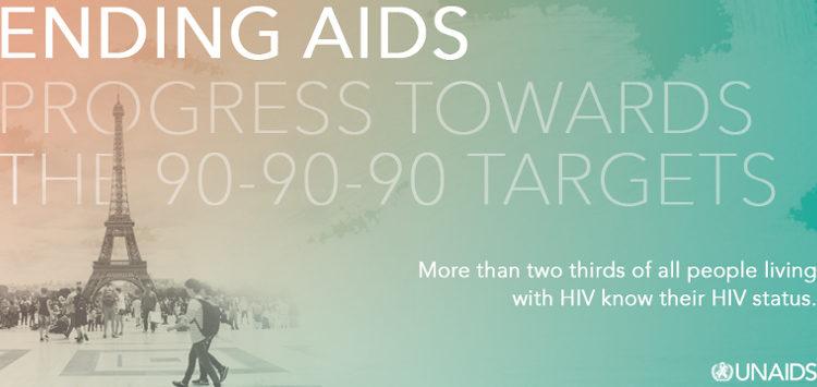 UNAIDS hat der Bericht zur Erreichung der 90-90-90-Ziele veröffentlicht