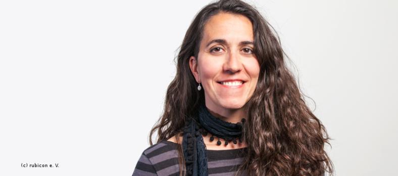 Interviewpartnerin Gema Rodriguez Diaz zum Thema LGBT-Geflüchtete und Rechtspopulismus