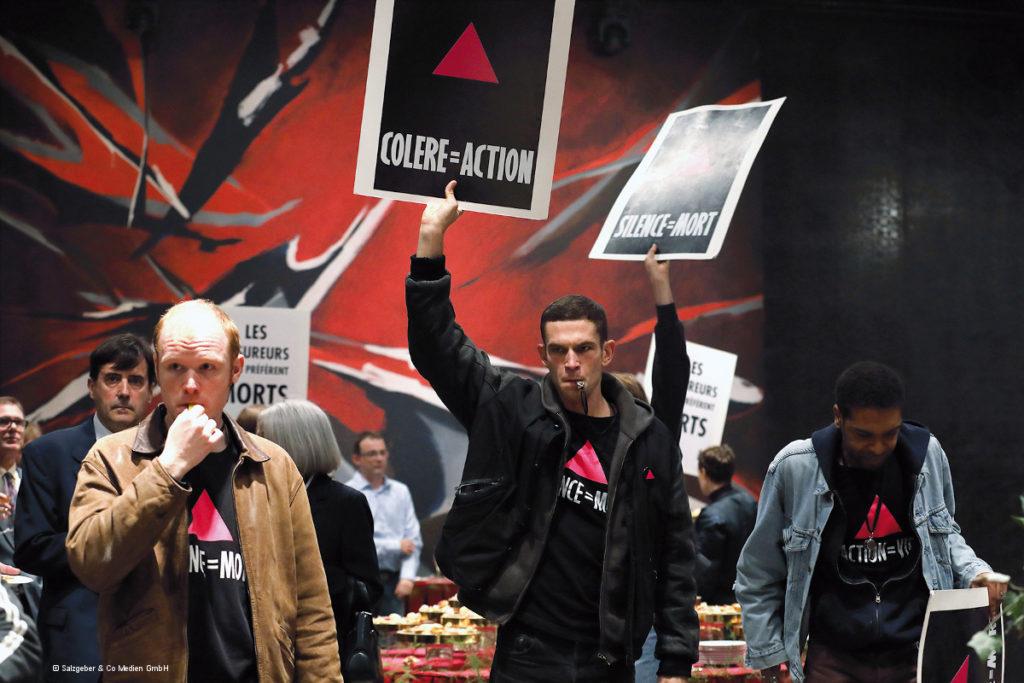 "Szene aus dem FIlm ""120 BPM"" über ACT UP Paris"