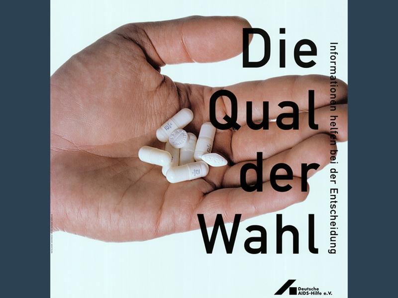 """DAH-Plakat """"Die Qual der Wahl"""""""