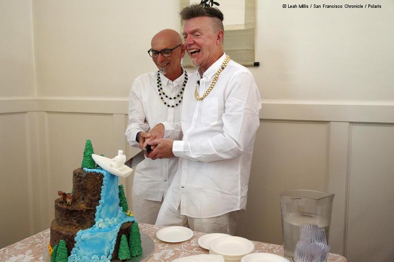 Ralph und David Hochzeit