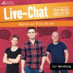 Health Supprt Live-Chat für schwule Männer