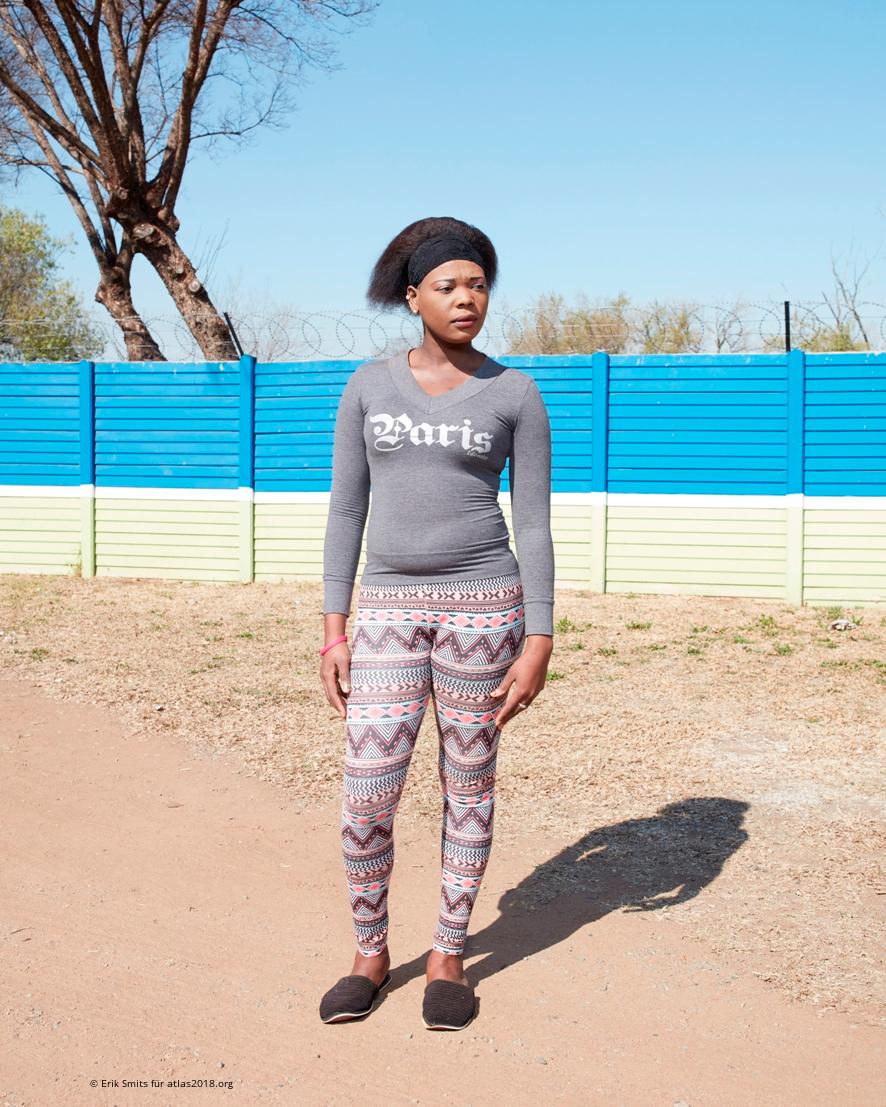 Zanele Ncube, Sexarbeiterin in Kempton Park