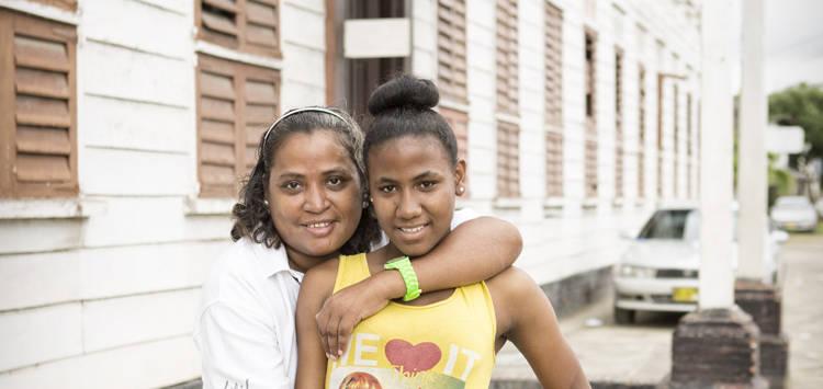 Leben mit HIV in Suriname