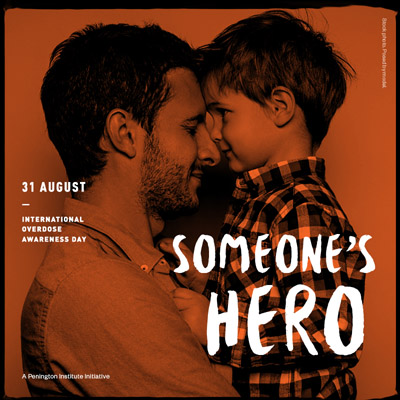 Beitrag zu Overdose Awareness Day
