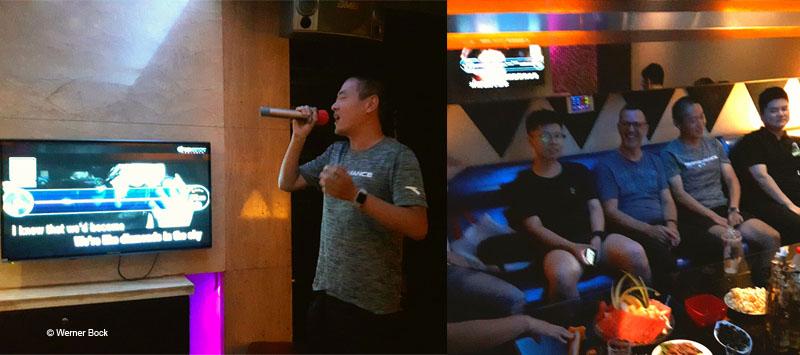 Karaoke - Bock bloggt