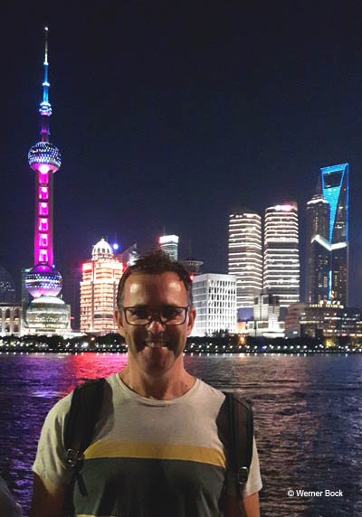 Skyline Shanghai - Bock bloggt