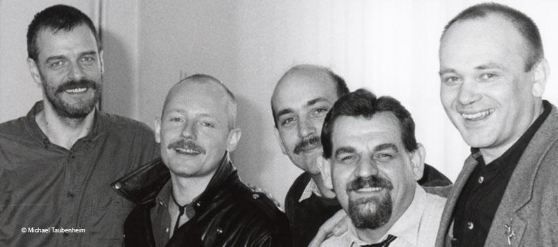 Bernd Aretz 1990 im DAH-Bundesvorstand