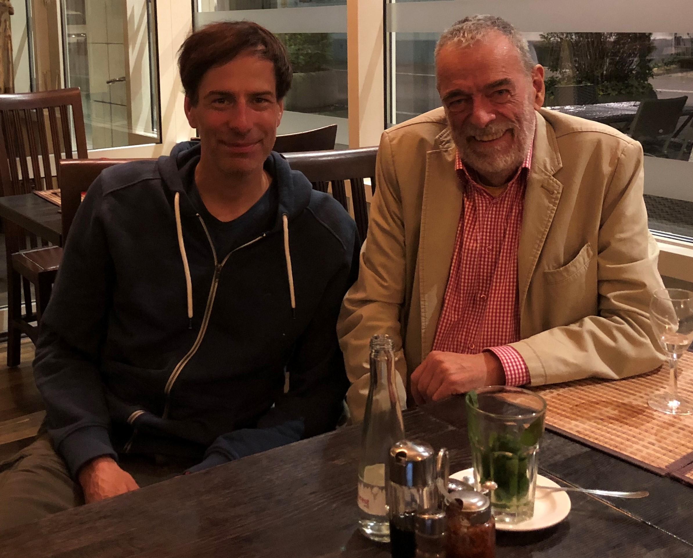 Pressesprecher Holger Wicht und Bernd Aretz