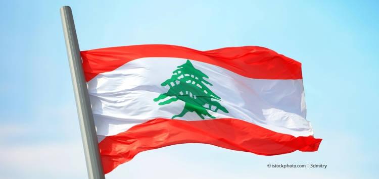 Proud Lebanon: Libaneische Flagge