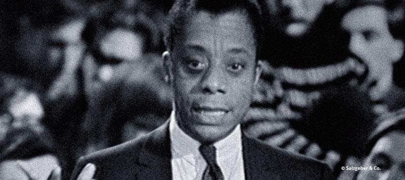 Portrait James Baldwin - Szene aus I am Not your negro