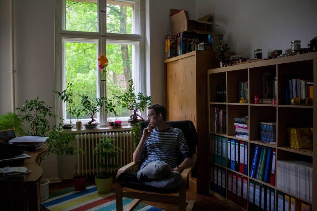 """Die Fotostrecke """"Ein positives Leben"""" zeigt den Alltag von Marcel, der mit HIV lebt"""