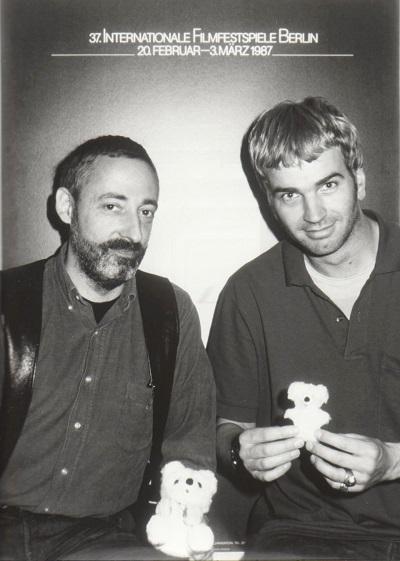 Manfred Salzgeber und Wieland Specke 1987