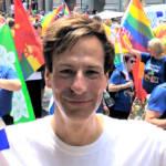 Der Autor beim World Pride in New York