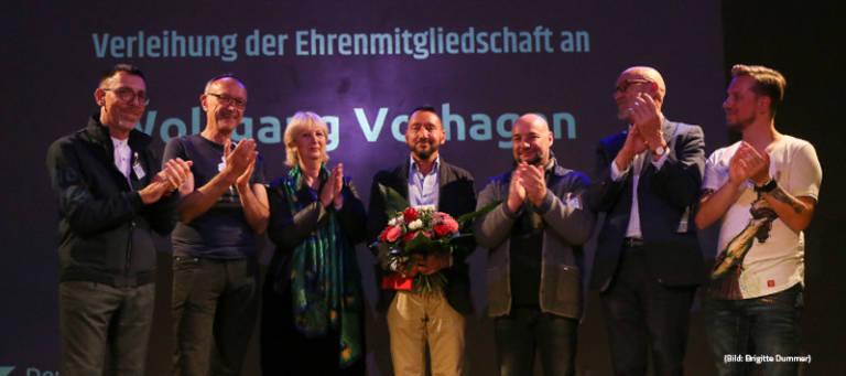 Erhenmitglied Wolfgang Vorhagen