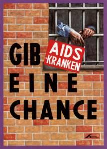 Plakat der Deutschen Aidshilfe