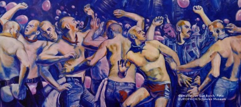 Gemälde einer Tanzszene