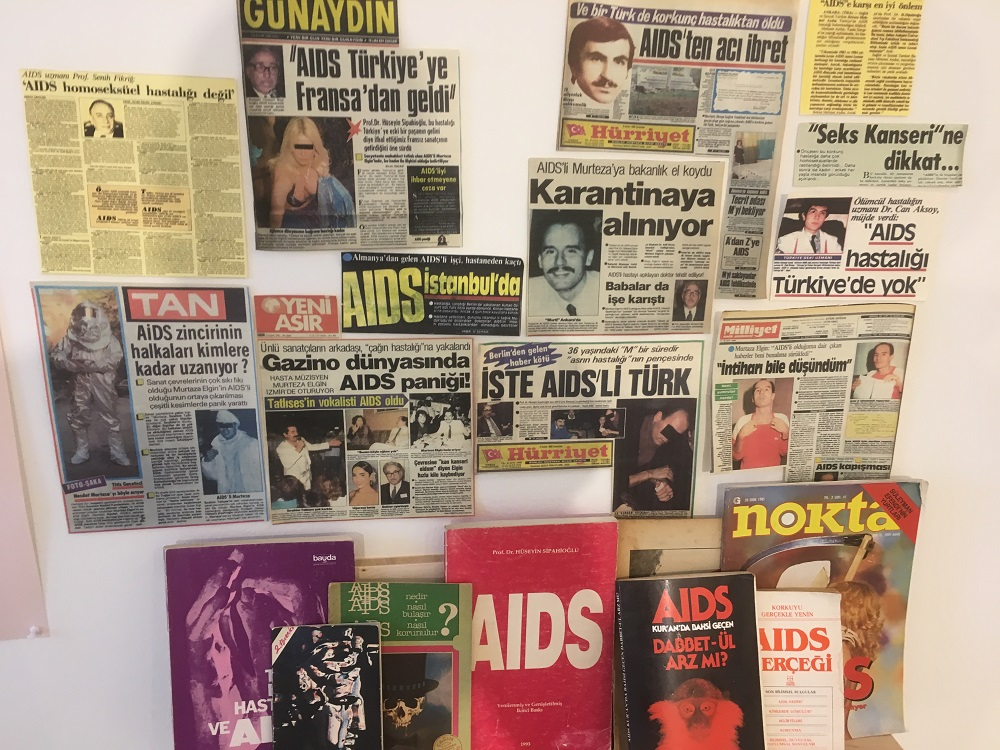 Abbildung der Zeitungscollage