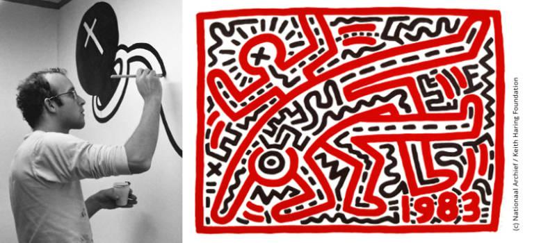Bild zum Beitrag Leben und Werk von Keith Haring