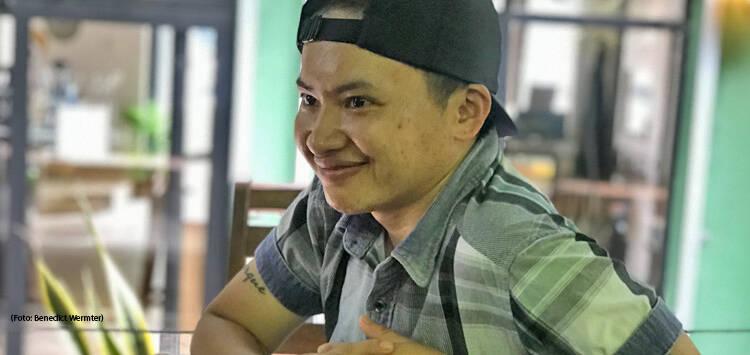 Beitragsbild zum Beitrag über einen trans Mann auf Borneo