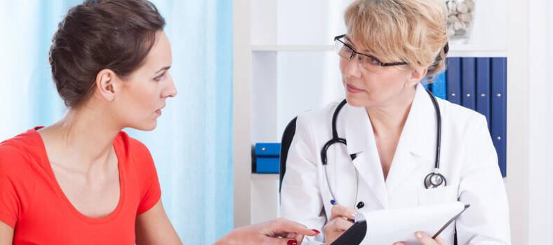 Ärztin Patientin